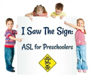 I Saw the Sign: ASL for Preschoolers @ North Columbus Public Library | Columbus | Georgia | United States