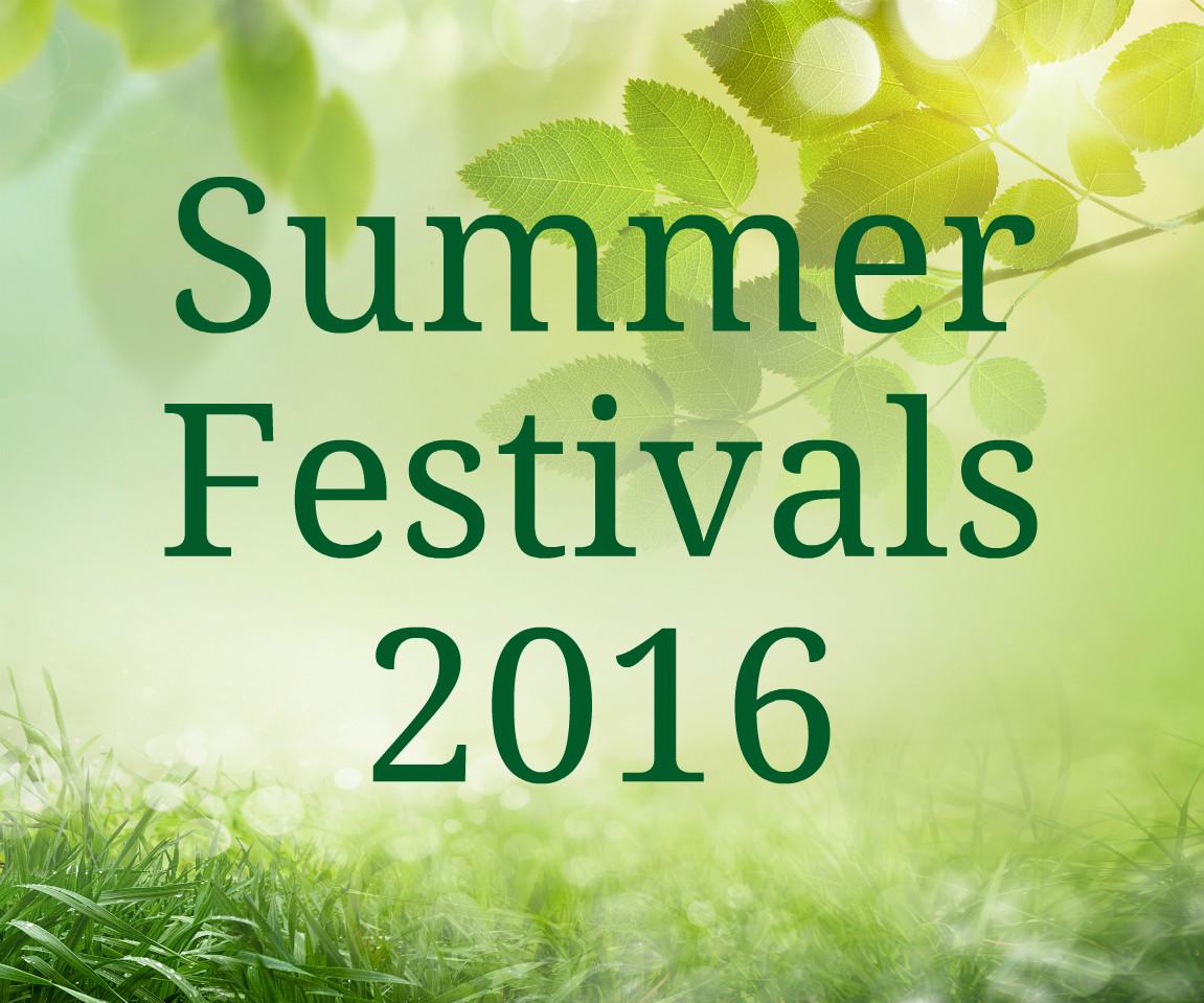 Summer Festivals 2016