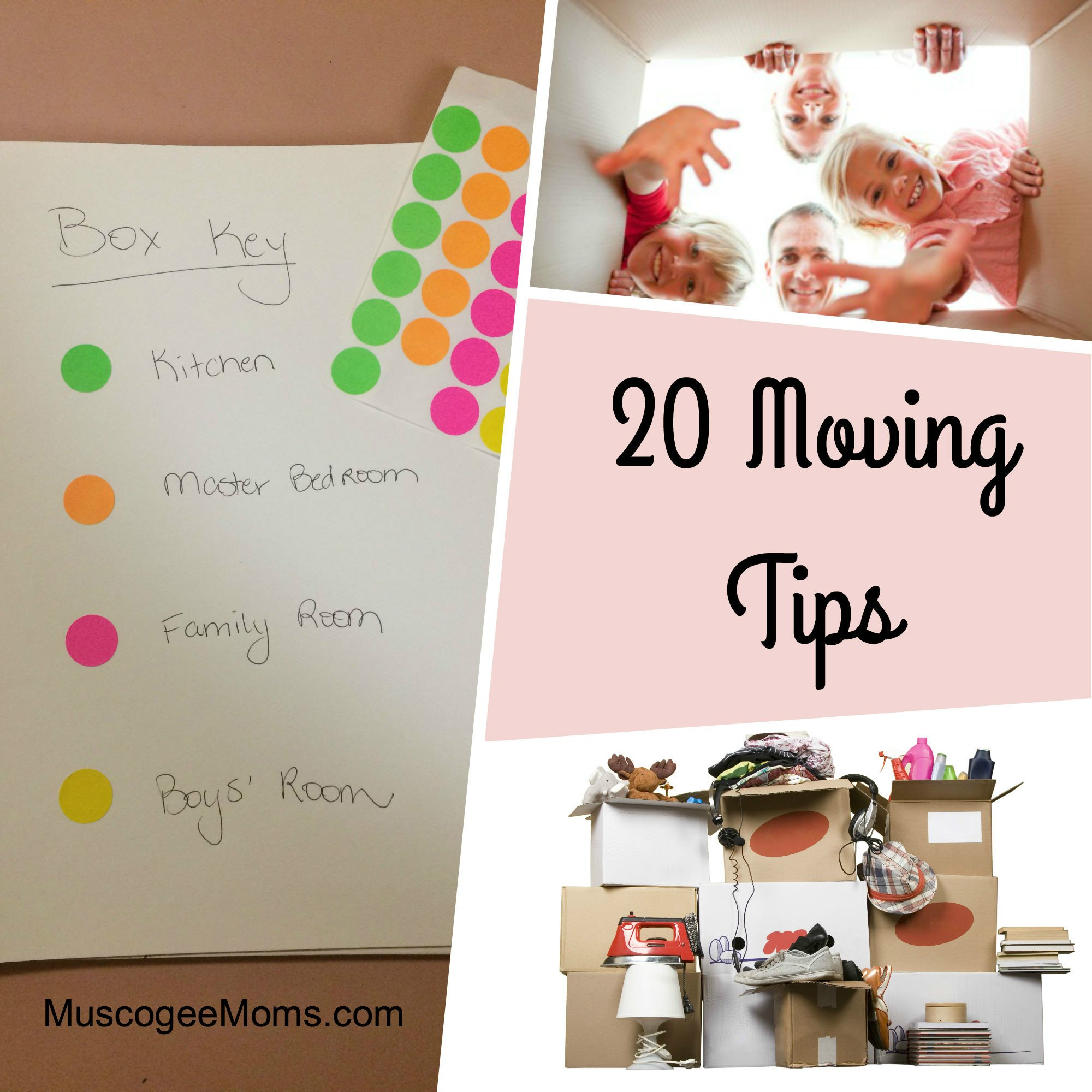 20 Moving Tips: Move Your Life, Keep Your Sanity