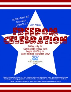 Freedom Celebration and Fireworks Show @ Opelika High School | Opelika | Alabama | United States