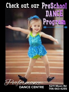 Registration for New PreSchool Dance Program @ Performance Dance Centre | Columbus | Georgia | United States