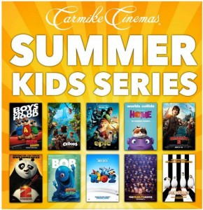 Carmike Summer Kids Series 2016 @ Carmike 10 LaGrange