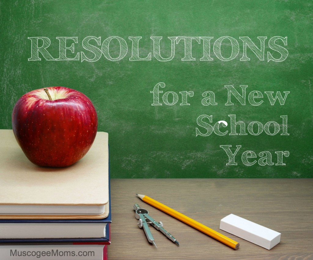school year resolutions