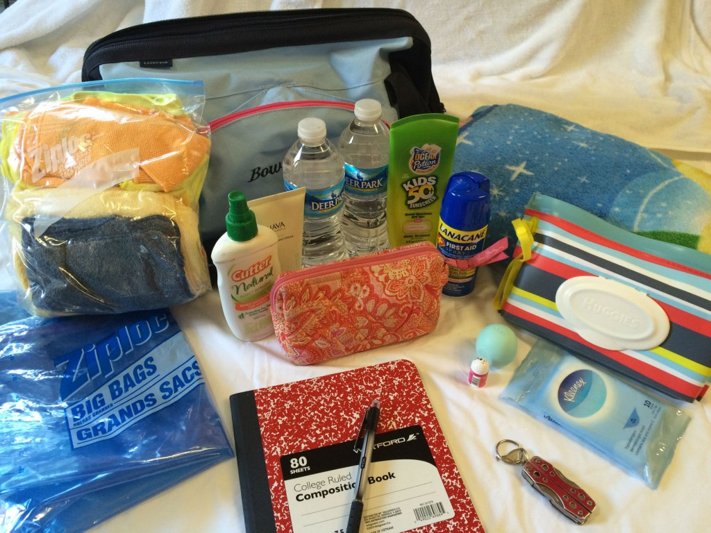 My bag of essentials