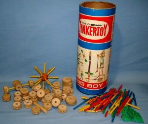Vintage TinkerToy set