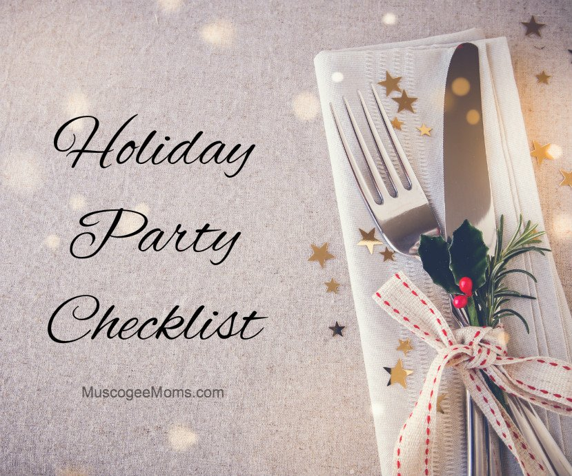 Holiday Party Checklist and Easy Fudge Recipe