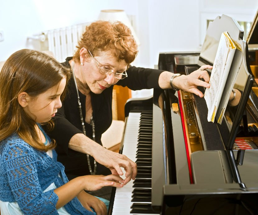 piano teacher; buying a used piano