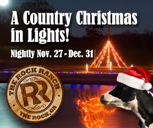 Country Christmas in Lights at The Rock Ranch