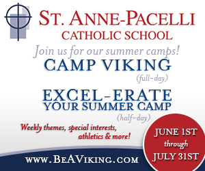 St Anne Pacelli summer camps