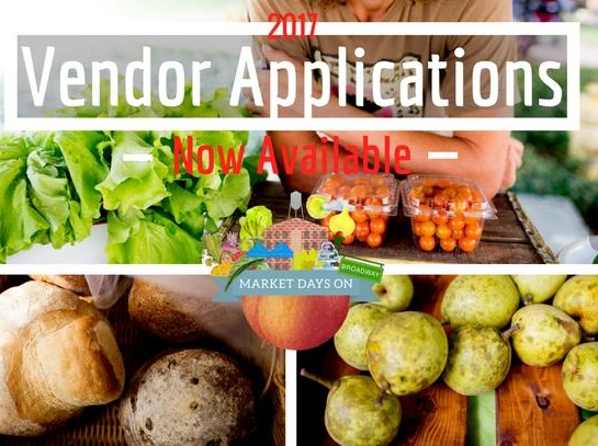 Market Days Applications