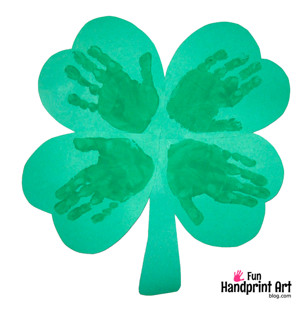 fun-handprint-art-blog-Handprint-Shamrock-Craft-St-Patricks-Day