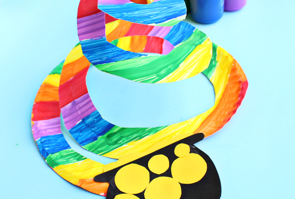 St Patricks Day Crafts Part - 31: End Of The Rainbow Twirler