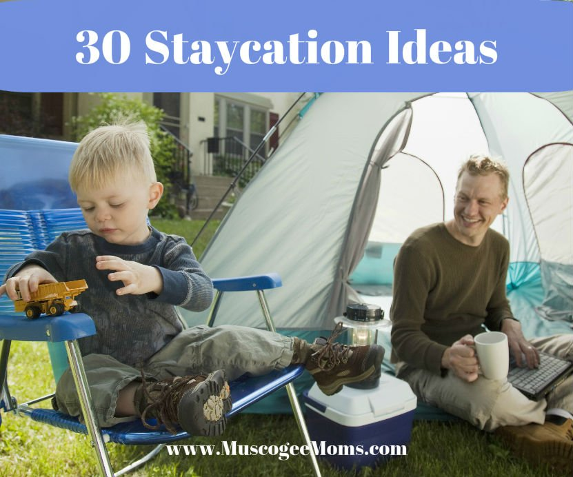 30 staycation ideas