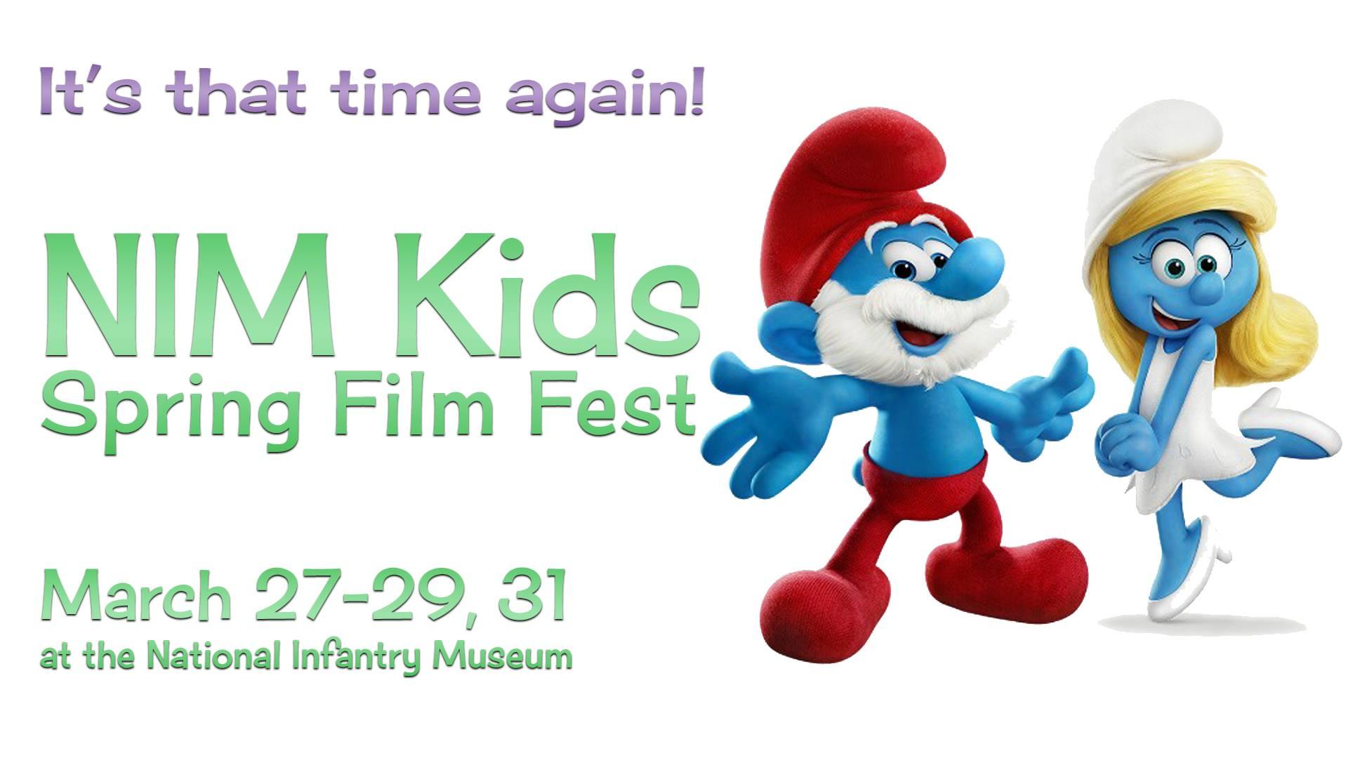 NIM Kids Spring18 Film Fest