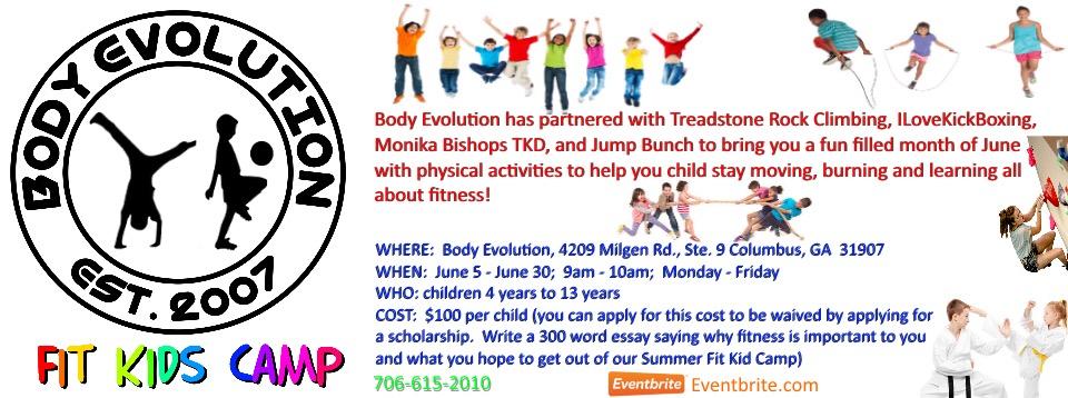 body evolution summer camp