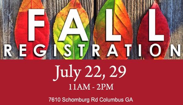 fall registration CSMD