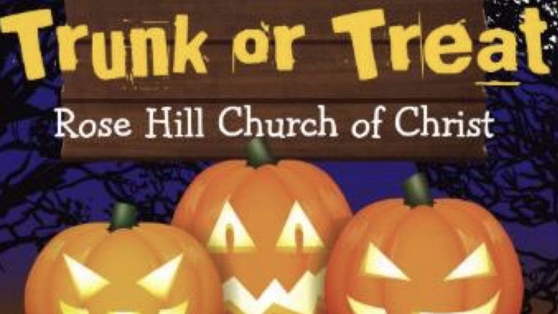 rose hill trunk or treat