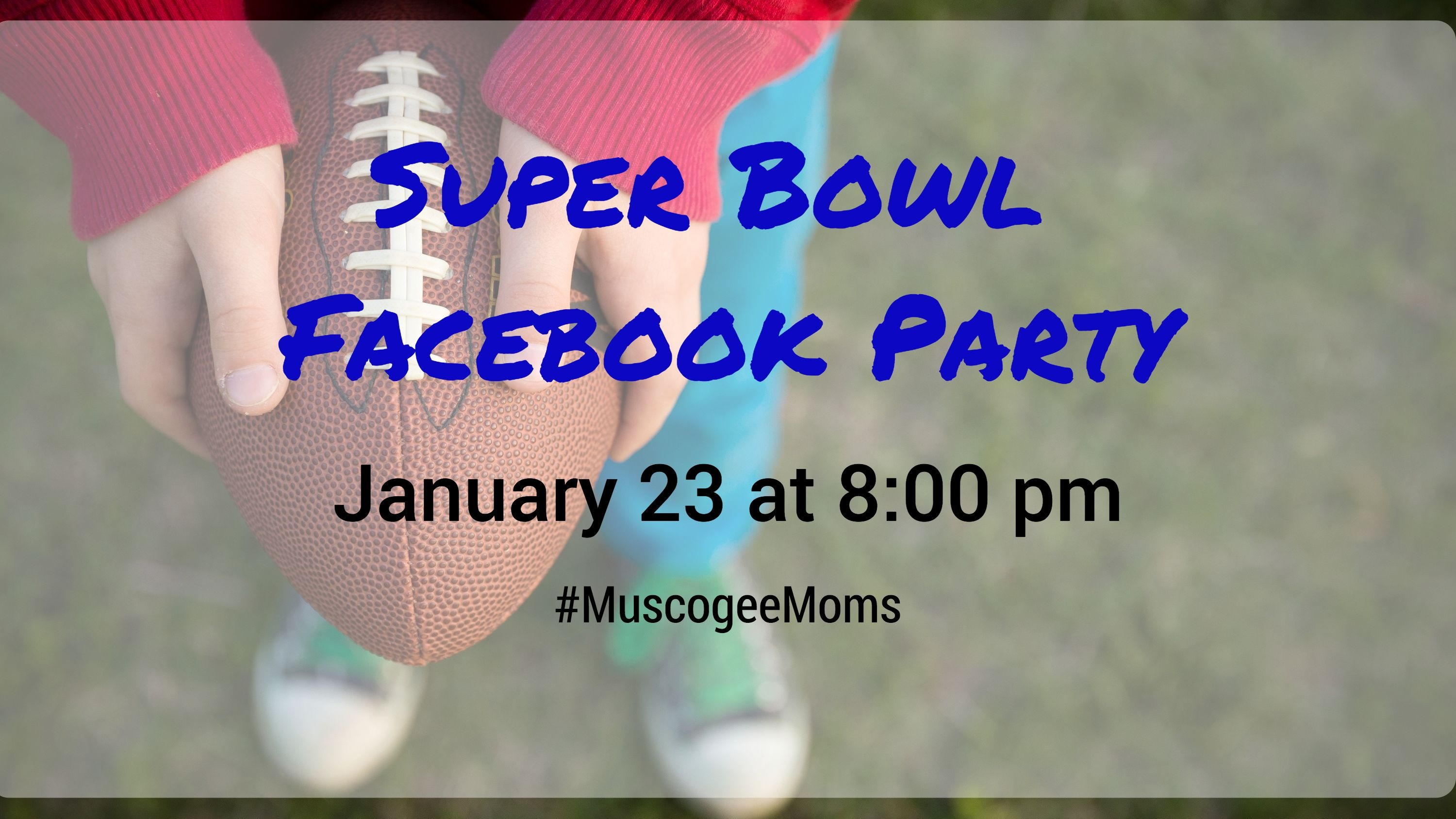 super bowl FB party