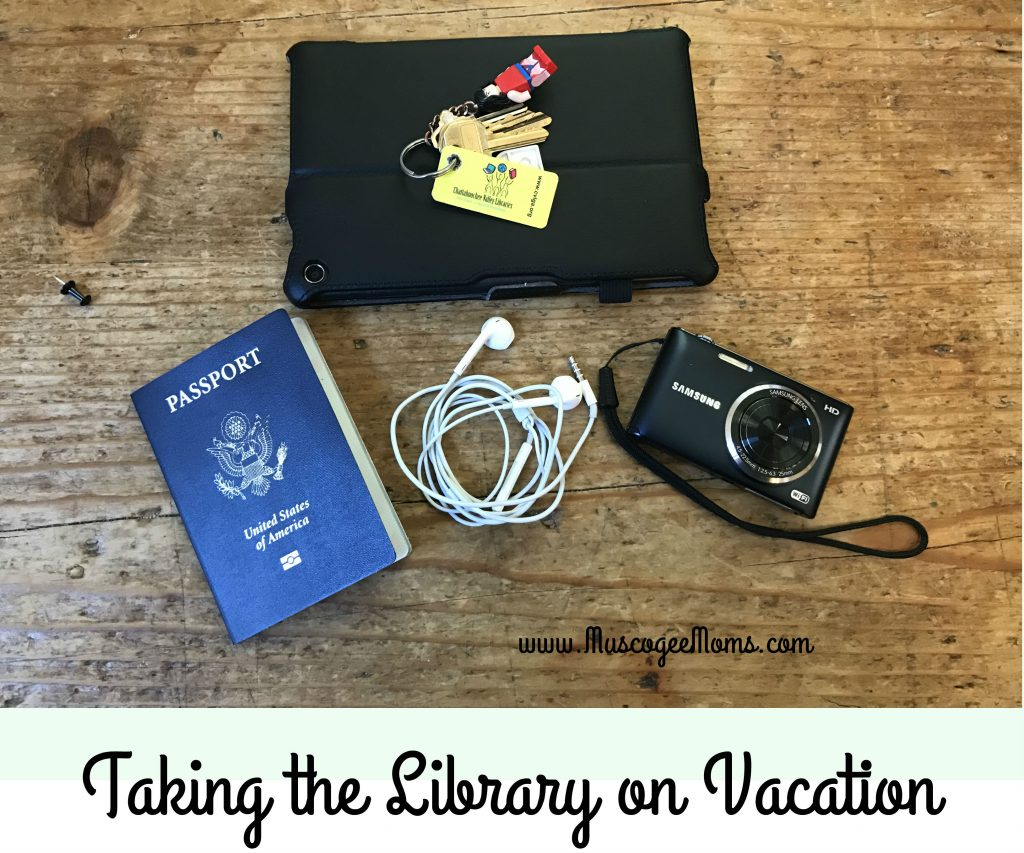 taking the library on vacation