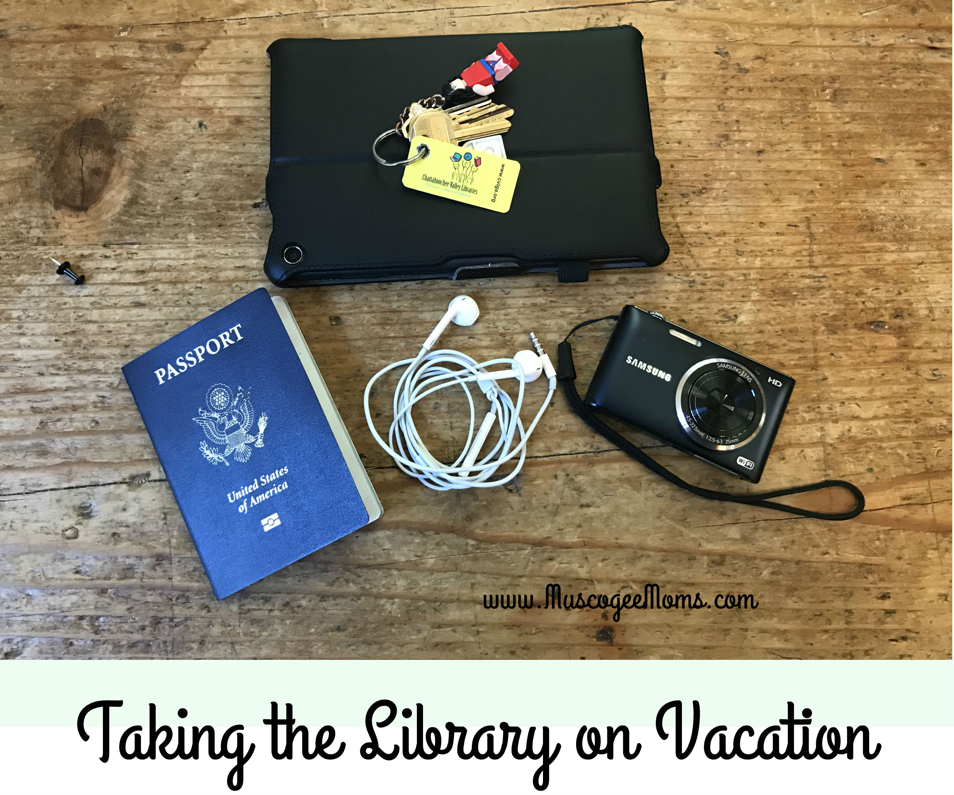 Taking the Library on Vacation #Review