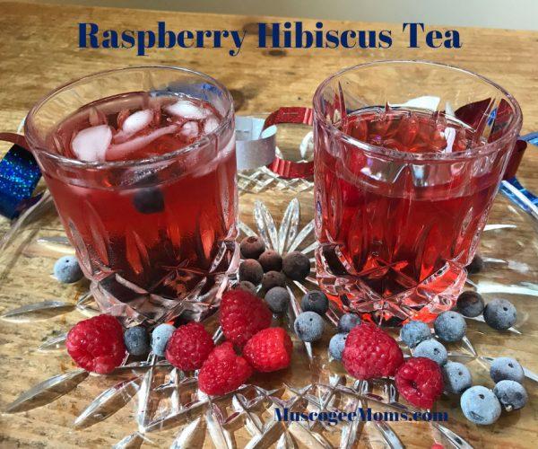 raspberry hibiscus tea