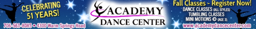 Academy Dance August 2019 Leaderboard