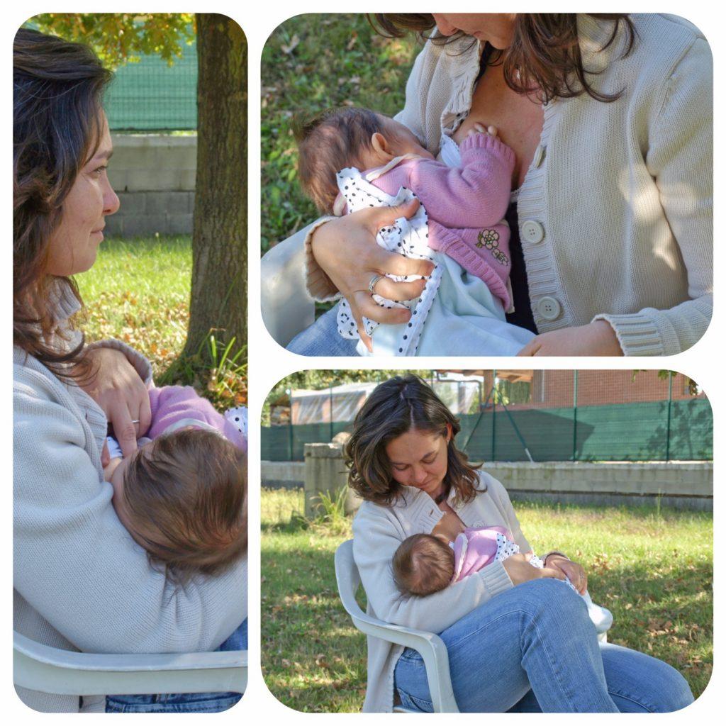 woman breastfeeding set