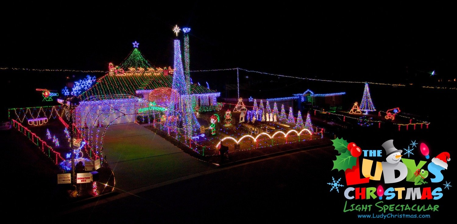 The Ludy S Christmas Light Spectacular Muscogee Moms