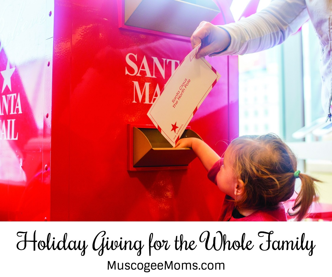 Holiday Giving for the Whole Family