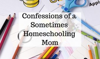 Confessions of a Sometimes Homeschooling Mom