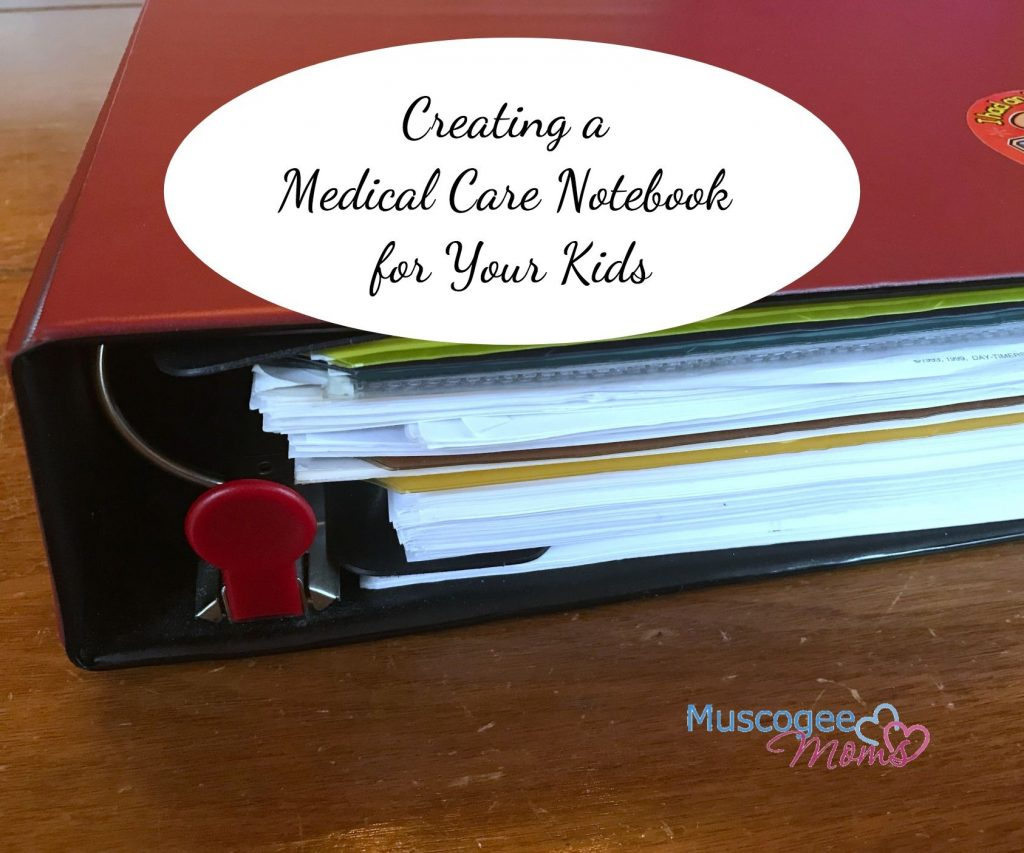 medical care notebook