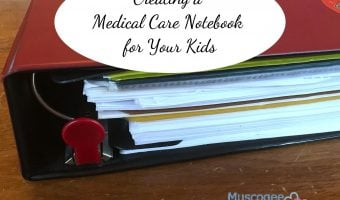 Creating a Medical Care Notebook for Your Child