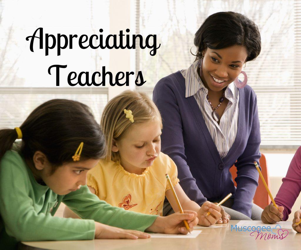 appreciating teachers