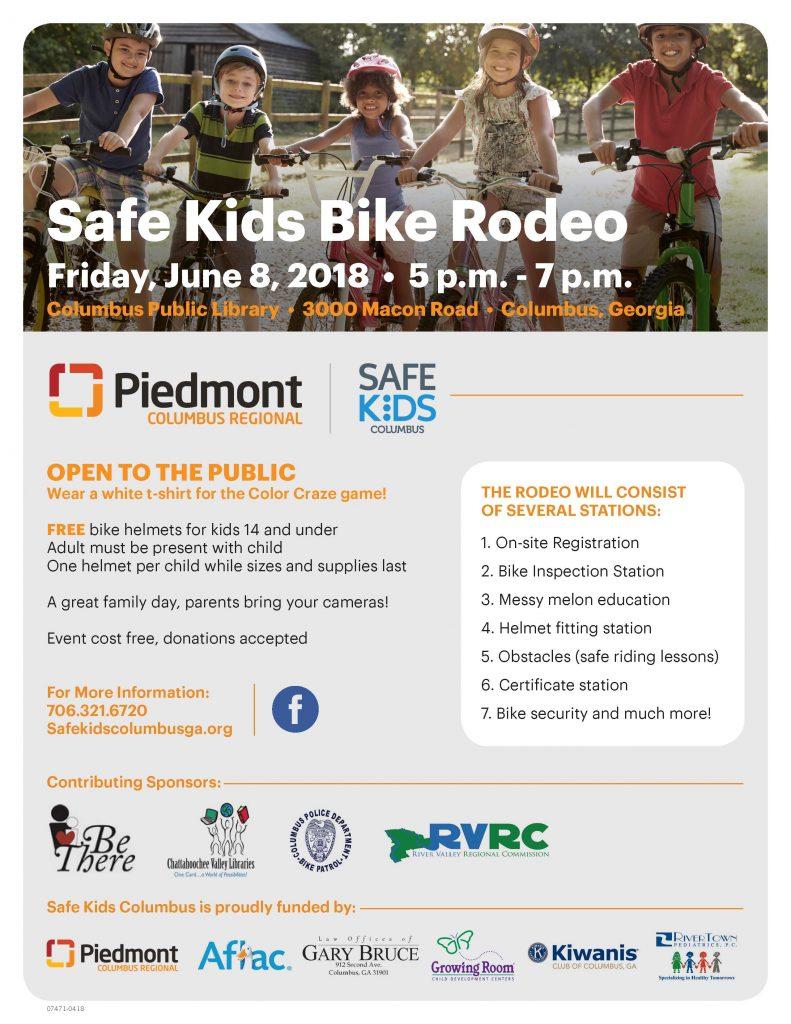 Safe Kids Bike Rodeo
