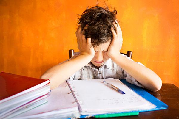 stress and kids