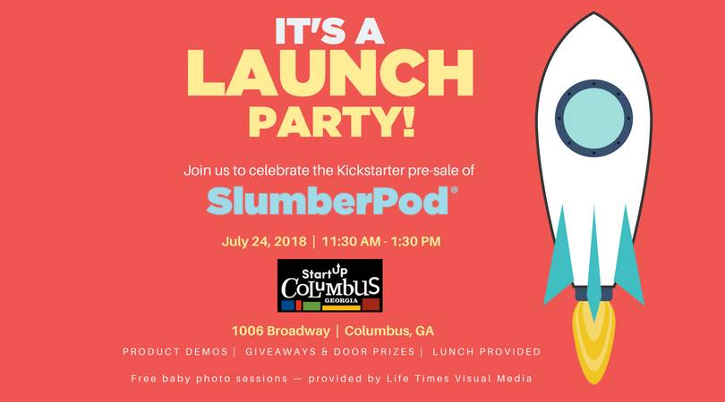 slumberpod launch party