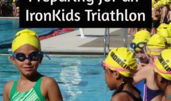 Preparing for an IronKids Triathlon
