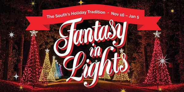 Fantasy In Lights At Callaway Gardens Muscogee Moms