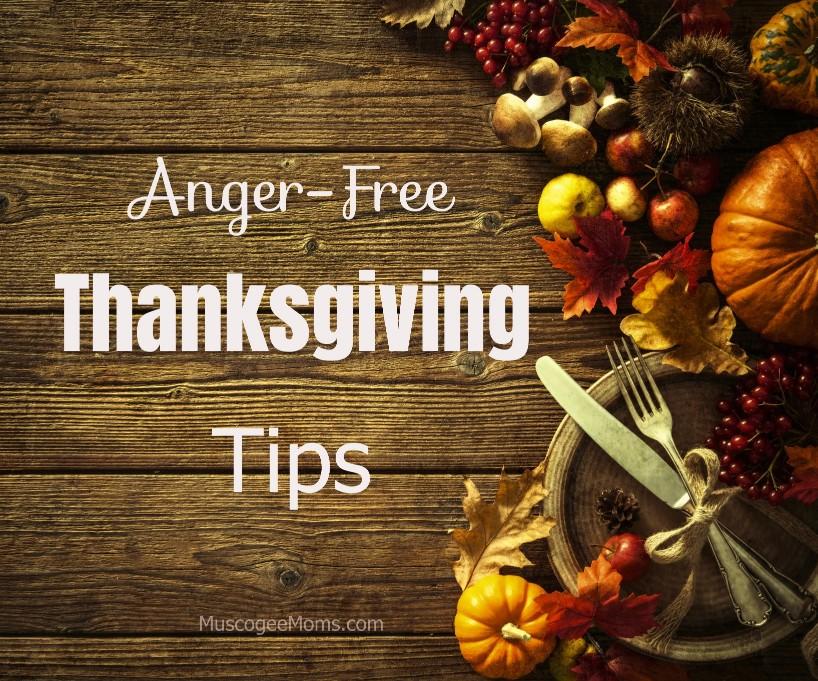 anger free thanksgiving
