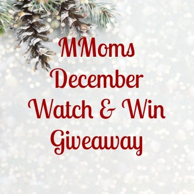 December Giveaway: Watch and Win