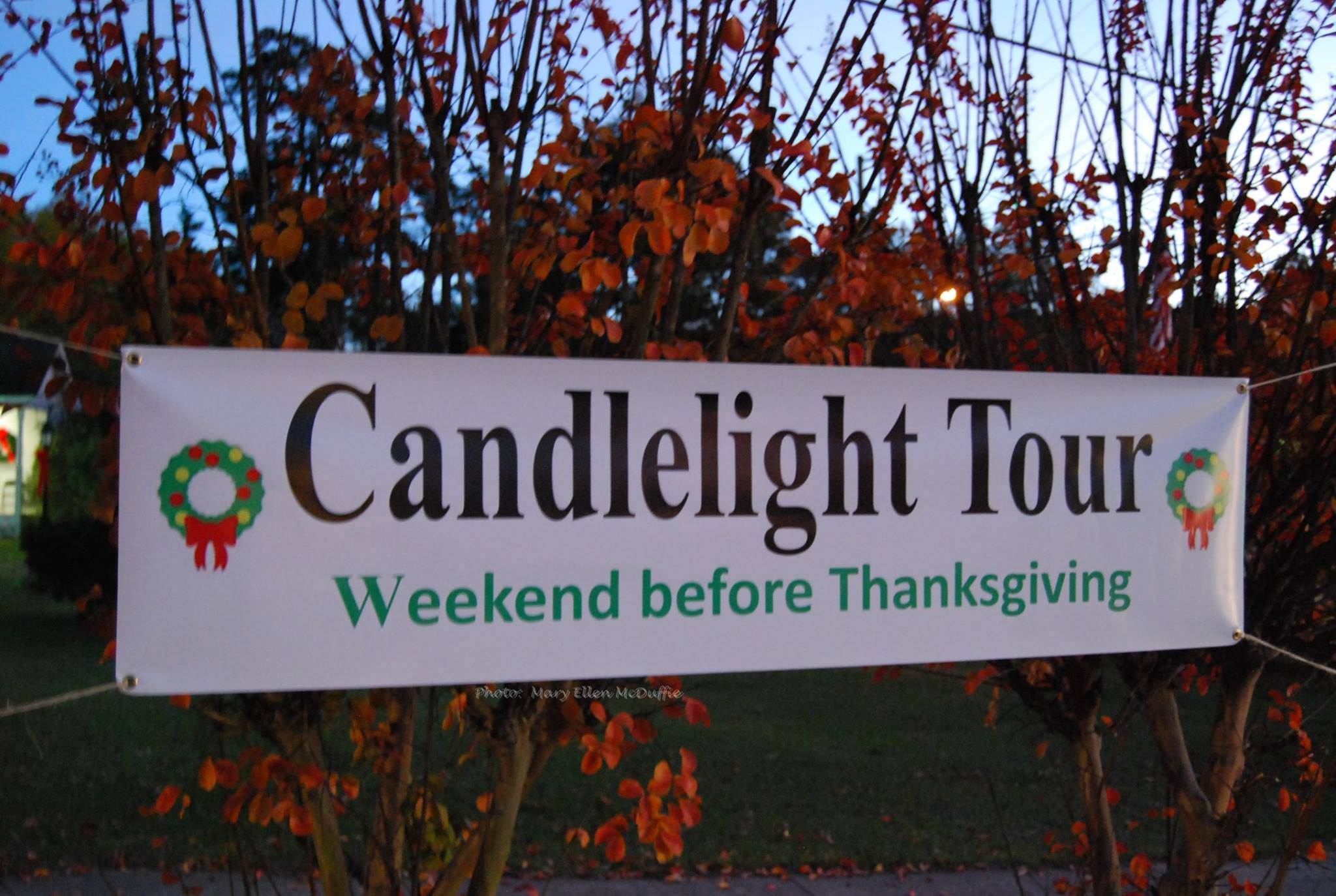 candlelight tour Warm Springs
