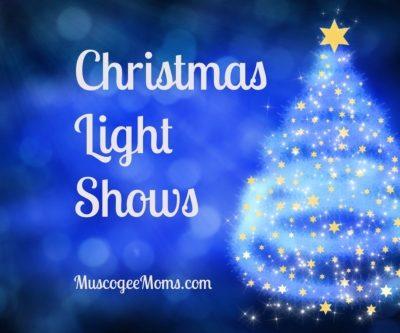 Christmas Light Shows Near Columbus, Georgia