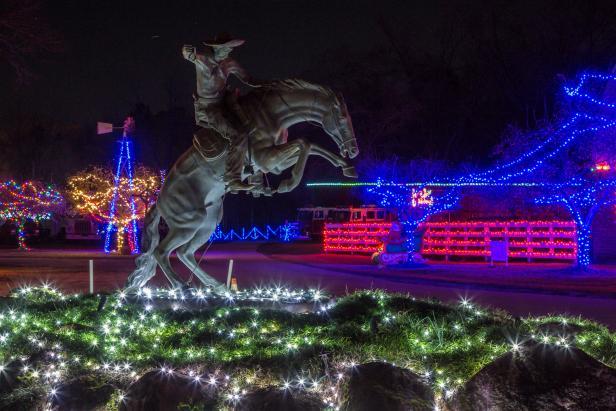 Drive-Through Christmas Lights at The Rock Ranch