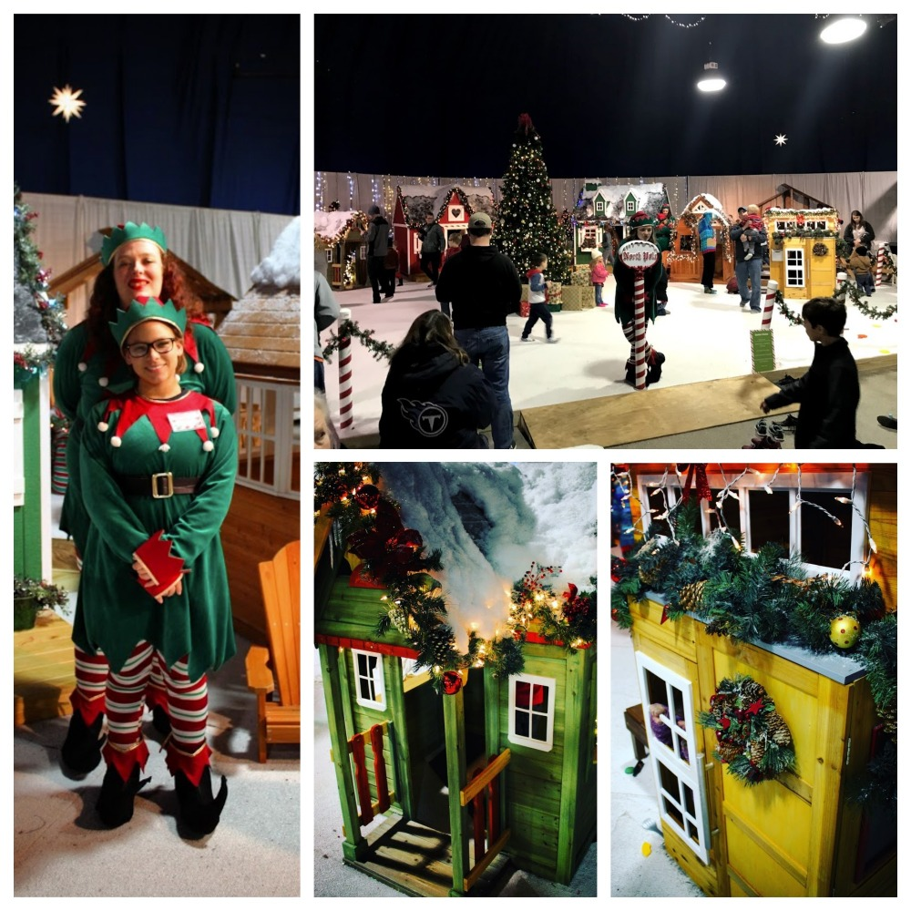 The North Pole at the Christmas Village:
