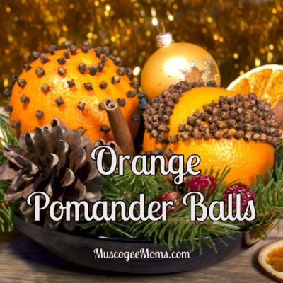Spiced Orange Pomander Balls