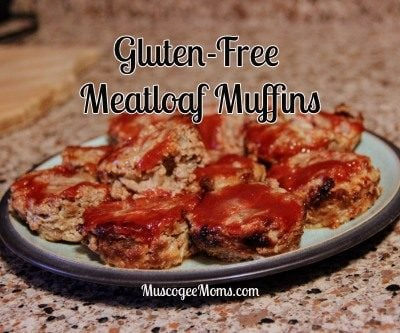 Gluten Free Meatloaf Muffins