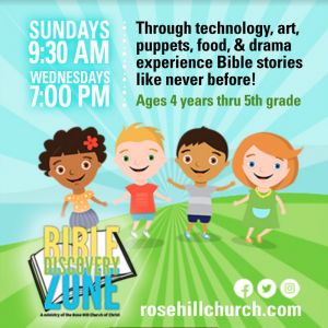 Rose HIll Bible Discovery Zone