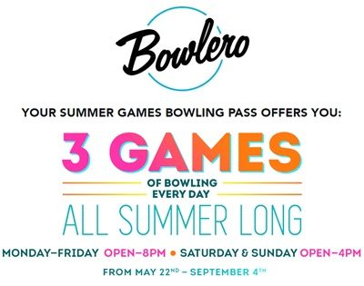 Bowlero Summer Games