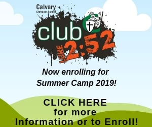 Calvary Christian Summer Camp