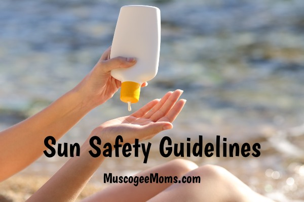 sun safety guidelines